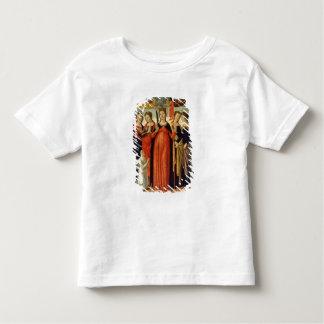 St. Ursula and Four Saints (tempera on panel) Toddler T-shirt