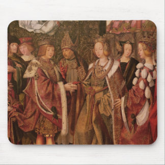 St. Ursula and Prince Etherius Mouse Pad