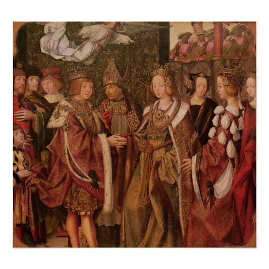St. Ursula and Prince Etherius Poster