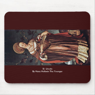 St. Ursula By Hans Holbein The Younger Mouse Pad