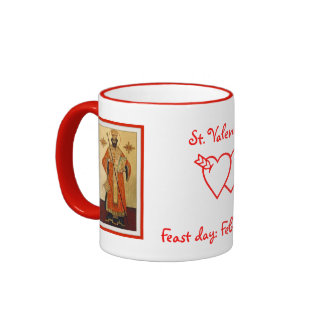St. Valentine Ringer Coffee Mug