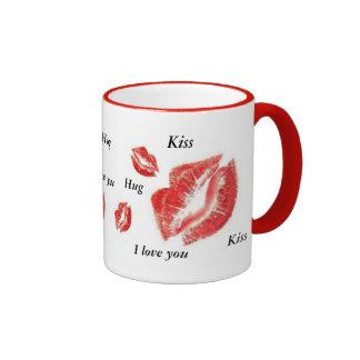 St Valentine Ringer Coffee Mug