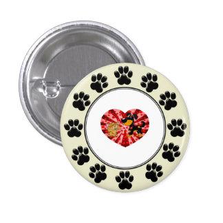 St. Valentine's Day 1 Inch Round Button