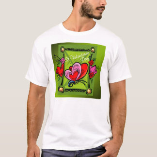 St. Valentine's Day 4 -- Green T-Shirt