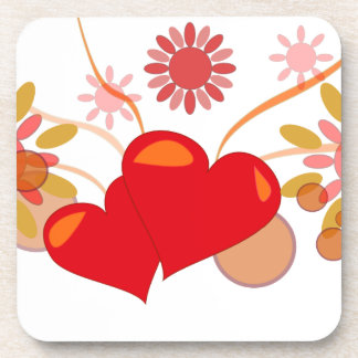 St. Valentine's day Beverage Coaster