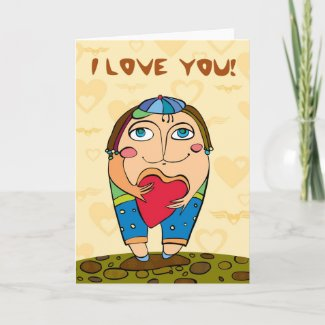 St. Valentine's Day Card