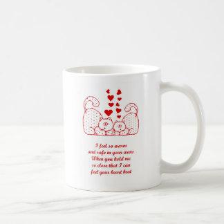 St. Valentine's Day Happy Valentine's Day cats Coffee Mug