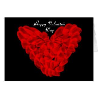 St. Valentine's Day Happy Valentine's Day heart Card