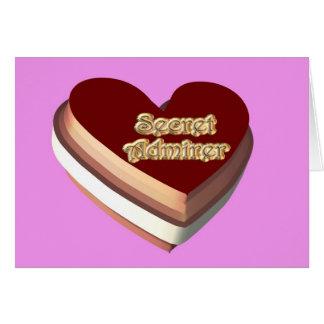 St. Valentine's Day Valentine Secret Admirer Card