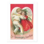 St. Valentine's Greeting (5) Postcards