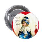 St. Valentine's Greeting Button