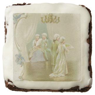 St. Valentine's Greetings Chocolate Brownie