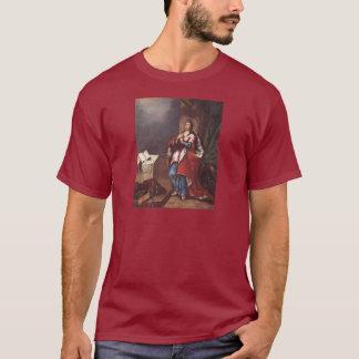 St. Varvara (Barbara)  by Vladimir Borovikovsky T-Shirt