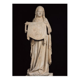St. Veronica, c.1310 Postcard