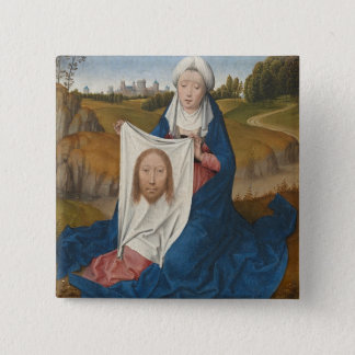 St. Veronica, c.1470-1475 (oil on panel) Button