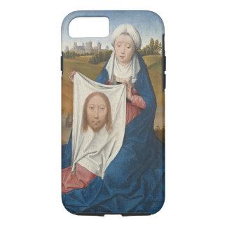 St. Veronica, c.1470-1475 (oil on panel) iPhone 7 Case