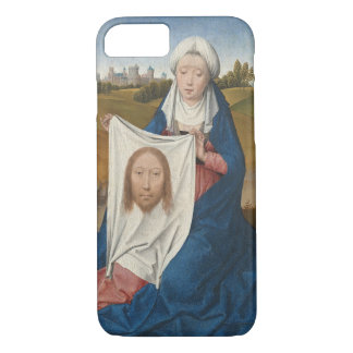 St. Veronica, c.1470-1475 (oil on panel) iPhone 8/7 Case