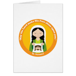 St. Veronica Card