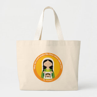 St. Veronica Large Tote Bag