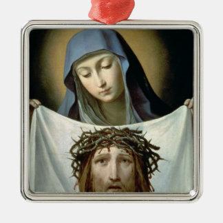 St. Veronica Metal Ornament