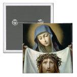 St. Veronica Pinback Buttons