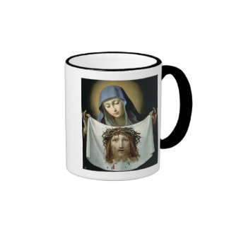 St. Veronica Ringer Mug