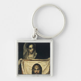 St Veronica with the Holy Shroud Keychains