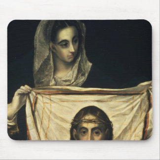 St.Veronica with the Holy Shroud Mouse Pad