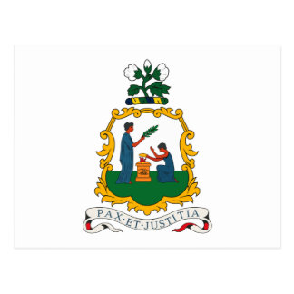 St. Vincent And Grenadines Coat of Arms Postcard