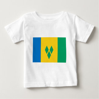 St Vincent and the Grenadines Flag Baby T-Shirt