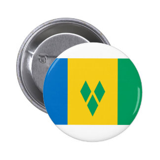 St. Vincent And The Grenadines Flag Button