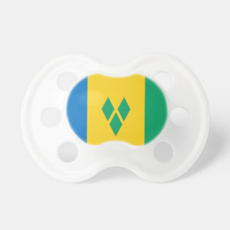 St. Vincent And The Grenadines Flag Pacifier