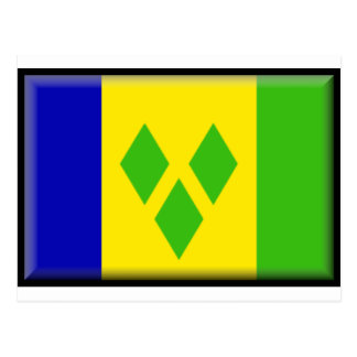 St. Vincent and the Grenadines Flag Postcard