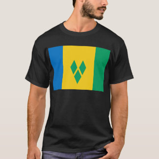 St Vincent and the Grenadines Flag T-Shirt