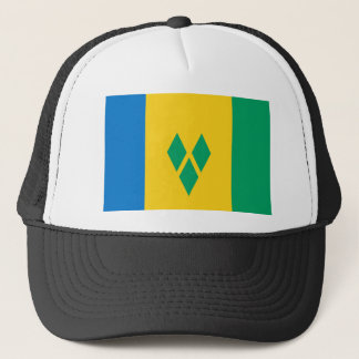 St Vincent and the Grenadines Flag Trucker Hat