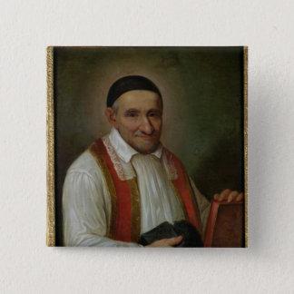 St. Vincent de Paul  1649 Pinback Button