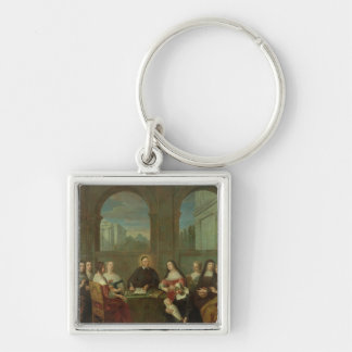 St. Vincent de Paul and the Sisters of Charity Keychain