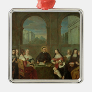 St. Vincent de Paul and the Sisters of Charity Metal Ornament
