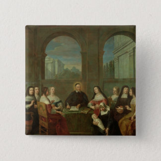 St. Vincent de Paul and the Sisters of Charity Pinback Button