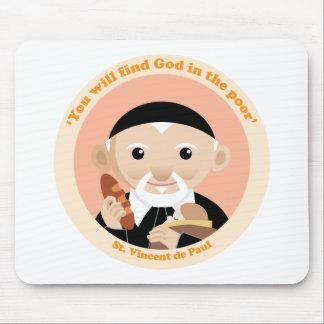 St. Vincent de Paul Mouse Pad