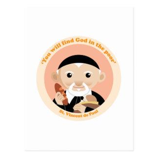 St. Vincent de Paul Postcard