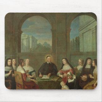 St. Vincent de Paul y las hermanas de caridad Alfombrillas De Raton