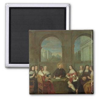 St. Vincent de Paul y las hermanas de caridad Imán Cuadrado
