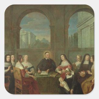 St Vincent de Paul y las hermanas de caridad Colcomanias Cuadradas