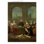 St. Vincent de Paul y las hermanas de caridad Tarjeta De Felicitación