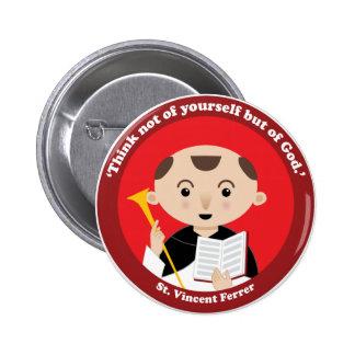 St. Vincent Ferrer 2 Inch Round Button
