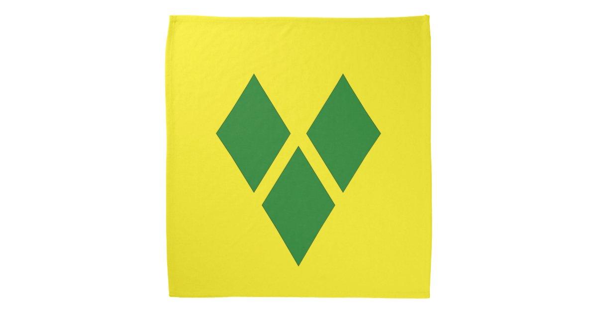 St  Vincent Flag Bandana | Zazzle com