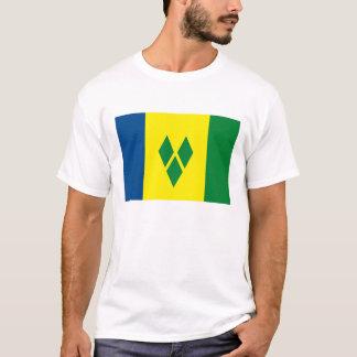 St. Vincent Flag T-shirt