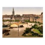 St. Vincent Gate, St. Malo, France classic Photoch Postcard