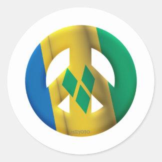 St Vincent Grenadines Stickers